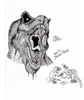 Tyrannosaurus 300? XD by TheOzzex