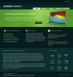 Business Company HTML Template by rjoshicool