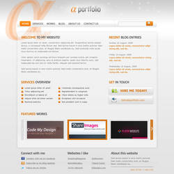 Alpha-Beta-Gama PSD Template by rjoshicool