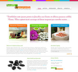 Health Ayurveda PSD Template by rjoshicool