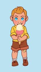 Tiny Tintin by chronicdoodler