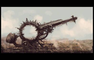 flagship weapon by DanteCyberMan