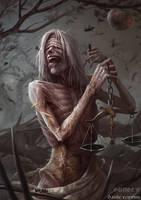 Famine - Four Horsemen of the Apocalypse by DanteCyberMan