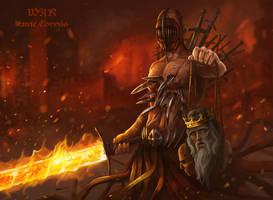 War - Four Horsemen of the Apocalypse by Dan by DanteCyberMan