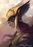Hawkgirl by DanteCyberMan