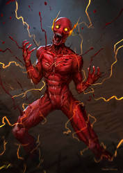 Flash monster by DanteCyberMan