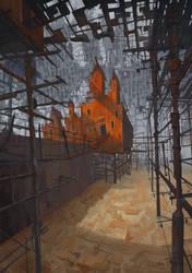 Ghostly Slum by DanteCyberMan