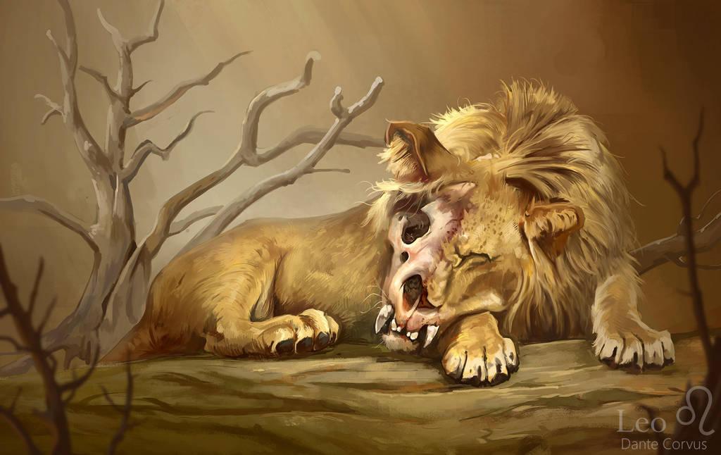 Lion by DanteCyberMan