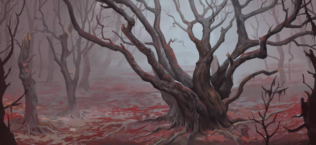 forest by DanteCyberMan