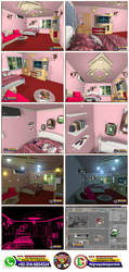 Interior Room Work by MohsinBadshah