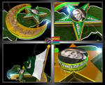 Five_Corners of Star_14th August_Intro_Animation by MohsinBadshah