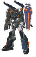 GAT-X1202 Duel Gundam Renegade by MegaGundam7778