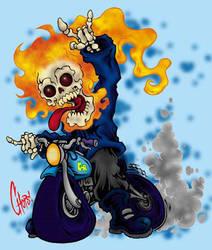 Lil G Rider by MonsterInk