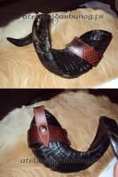 porte corne - horn belt holder by Karbanog