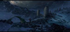 Mountain Passage by AhmetCanKahraman