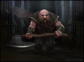 Dwarf by AhmetCanKahraman