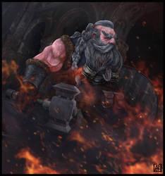 New Year, New Dwarfs by AhmetCanKahraman