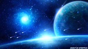 Blue Space by ItsDarkk