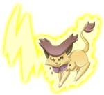 Delcatty used Thunderbolt by Hedgey