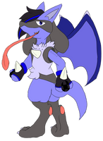 Comm: Lucario OC by Hedgey