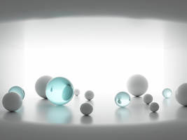 misc 3D balls by aphaits