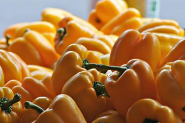 Free Yellow Pepper Stock by Arbutusridge