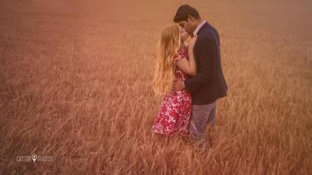 The fairy tale kiss by castorphotos