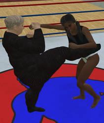 Women's wrestling 109 by cattle6