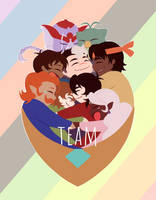 Team Voltron by MeteorBladeV3