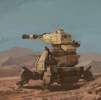 Desert Tank by Takumer