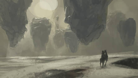 more quick environment sketches by Takumer