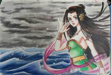 Guardian of Sea by serunisavana