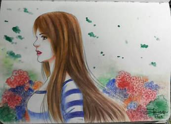 Alone by serunisavana