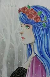 Snow fall by serunisavana