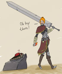 Dark Souls 2: Second before... by F0Xproxy