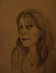 self WIP sketch by alivethroughart