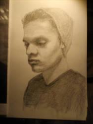 WIP - David sketch by alivethroughart