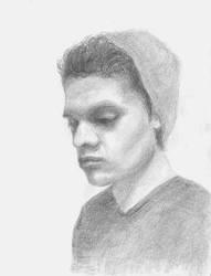 DAVID Portrait by alivethroughart