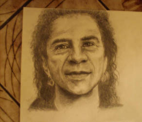 Portrait Sketch of Gino by alivethroughart