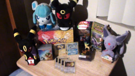 Current Eeveelution Collection by FreeSpirit59