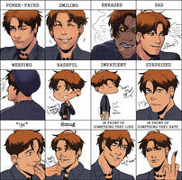 IV: Alonzo's Expressions by NanoColors