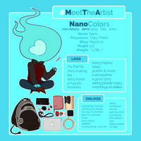 Meet the Artist Meme (2018) by NanoColors