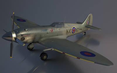 Spitfire by kceg