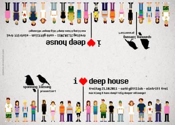 i heart deep house V by mwmax