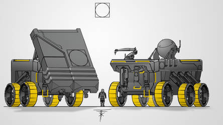 Space Rover Concept by FlixandISi
