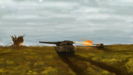Two Tanks by FlixandISi