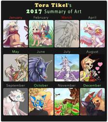 2017 Tora Summary Art by Tora-Tikel