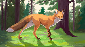The Fox by Tora-Tikel
