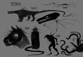 witch hunt_The Hidden (concept art) by Schl4fy