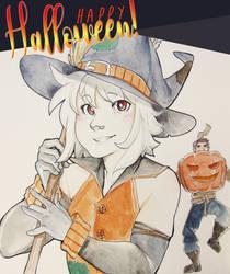 _happy halloween by Schl4fy